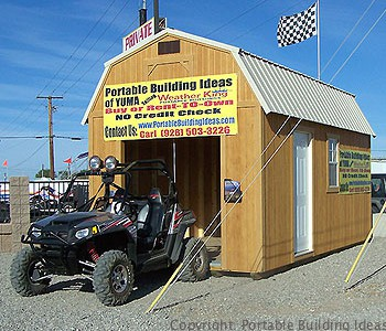 On mobs storage sheds rent to own indiana for Atv shed plans