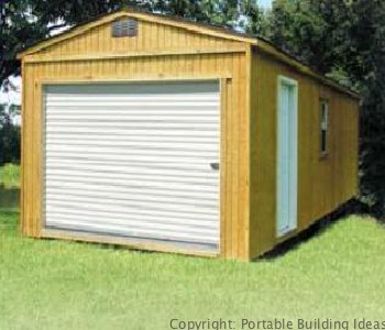 WoodTreated-Garage