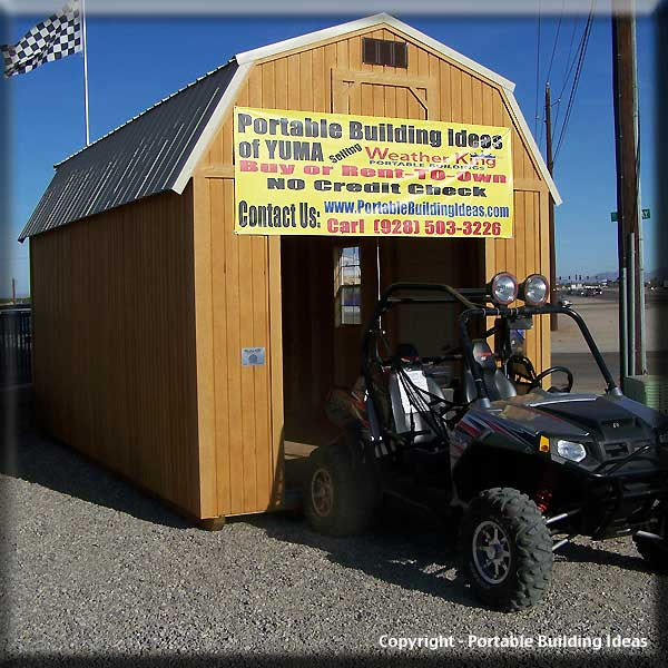 Atv storage shed garden shed shelving ideas for Atv shed plans