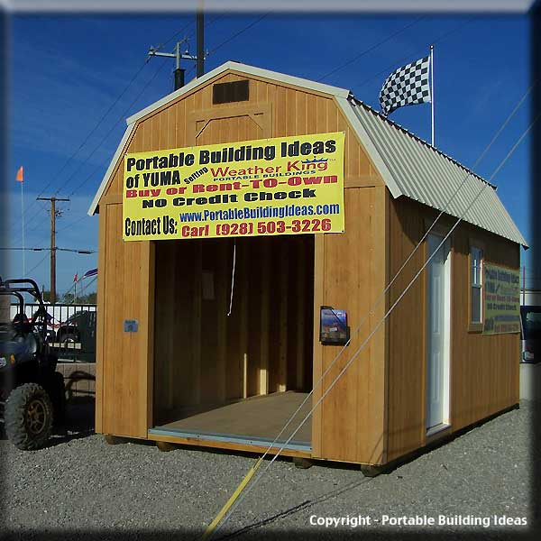 Nale buy atv storage shed for Atv shed plans